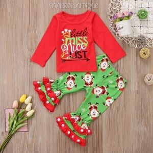 Little Miss Nice List {Christmas} Matching Outfit
